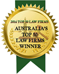 CV Martin 2014 Winner Top 50 Law Firms